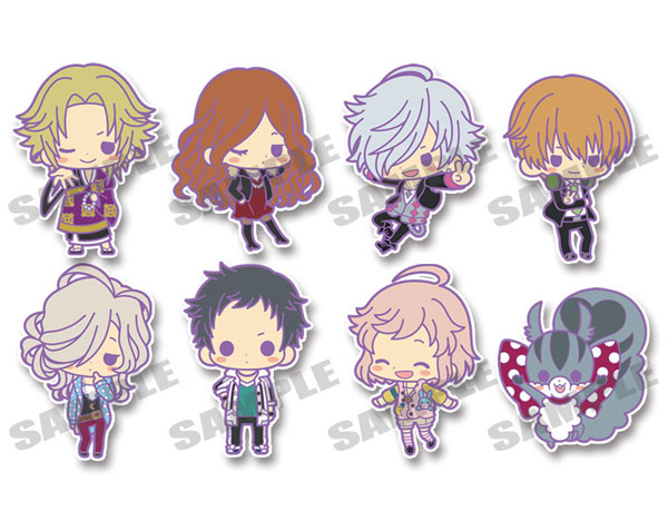 Brothers Conflict- Rubber Strap Collection Side A Set of 8