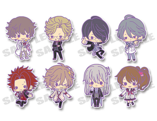 Brothers Conflict- Rubber Strap Collection Side B Set of 8