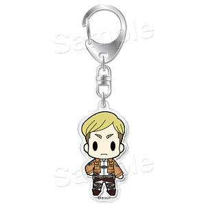 Attack on Titan- Erwin Smith D4 Acrylic Key Ring