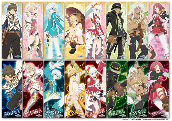 Tales of Zestiria- Chara Pos Collection- Single BLIND BOX