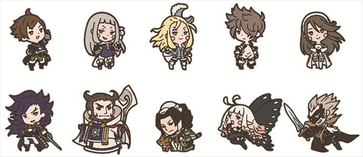 Bravely Default- Second Rubber Strap- Single BLIND BOX