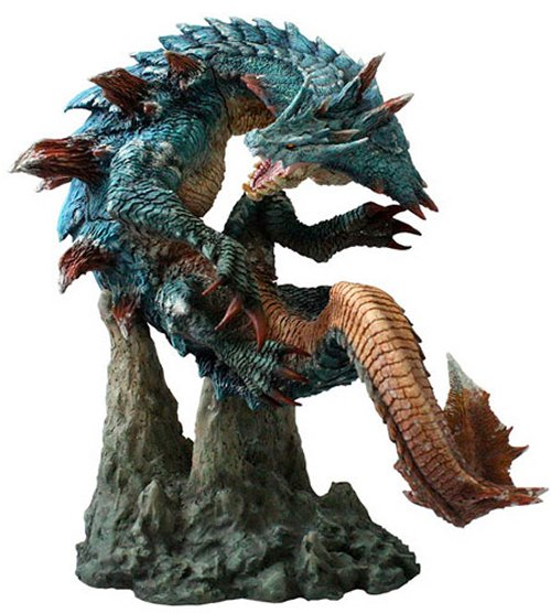 Monster Hunter - Capcom Figure Builder Creators Model Lagiacrus PVC Figure Re-release