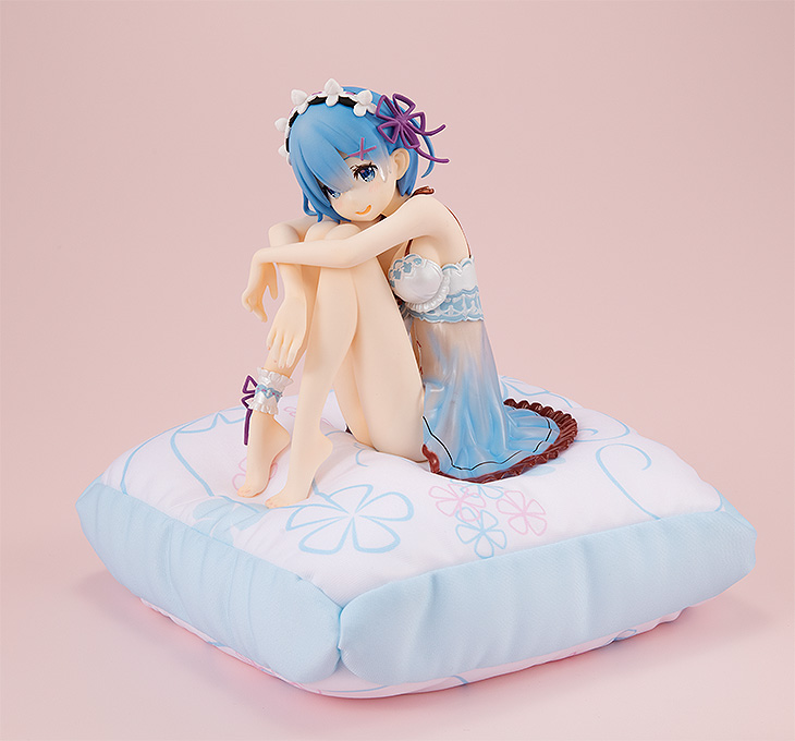 Re:Zero - 1/7 Rem Birthday Blue Lingerie Ver. PVC Figure