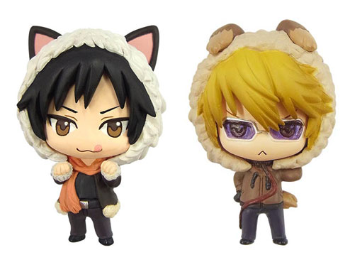 Durarara X2- Izaya Orihara and Shizuo Heiwajima Color Colle Figures Set of 2