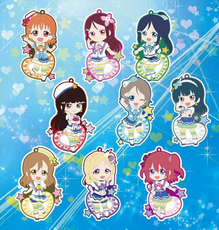 Love Live Sunshine - Niitengomu Rubber Strap SINGLE Blind Box