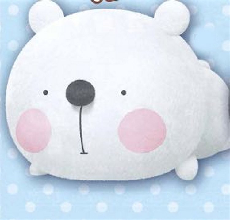 Banpresto Plush - White Bear Large Plush