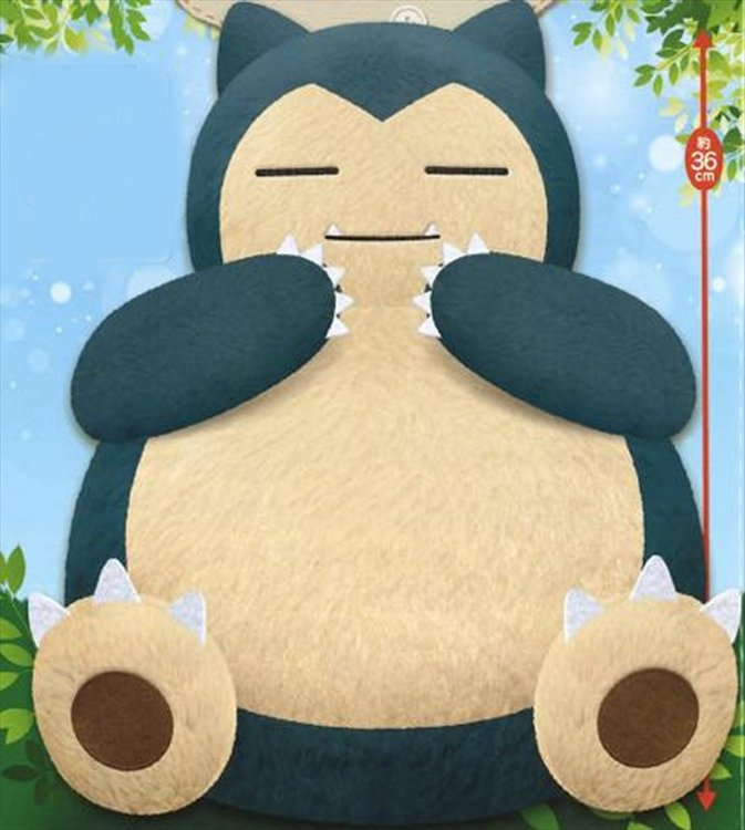 Pokemon - Large Snorlax Plush